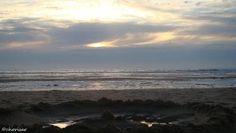 La petite houle du Grand Crohot jusqu'au soleil couchant…