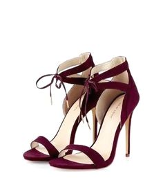 d117ebf7212 40 Heels Shoes For Women Which Are Really Classy - Trend To Wear Burgundy  Wedding Shoes