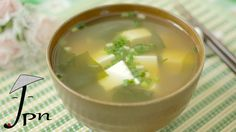 Como fazer Misoshiru (みそ汁)