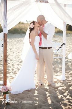 A Small And Intimate Wedding On The Beach Great Spot For Weddings