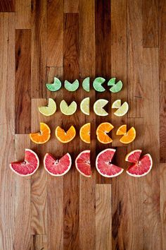 Juicy Typography by Allison Supron