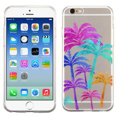 Palm Tree For Samsung Galaxy S6, Galaxy S6 Edge, Note 4 Transparent case