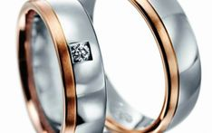 Verighete aur alb si aur roz MDV863 #verighete #verighete5mm #verigheteaur #verigheteauraplicatie #magazinuldeverighete 50 Euro, Wedding Rings, Engagement Rings, Model, Jewelry, Crystal, Diamond, Enagement Rings, Jewlery