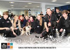 Cheshire Police talked to Public Services students during National Careers Week. #WCCBESTOF15