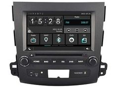 Car DVD HeadUnit Radio for Mitsubishi Outlander 06-12 GPS Navi Bluetooth Wifi 3G