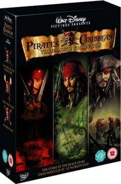 Pirates of the Caribbean trilogy - First movie was the best (it started it all)