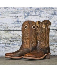 Ariat Men's Rambler Square Toe Cowboy Boot - Earth http://www ...