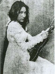 On this date in 1876, Zitkala Sa was born on the Yankton Indian Reservation in South Dakota. She would go on to write several books, including American Indian Stories, co-write the first Native American opera, and found the National Council of American In
