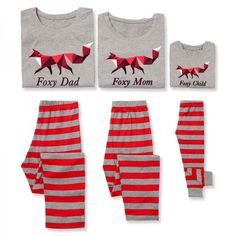Christmas Family Traditions ·   Adorable matching geo fox print   Elastic  waist   Material  100% Cotton   a962f9906