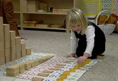 A link for my reference on the progression and use of Montessori math materials