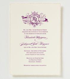 Love Logo #23 Wedding Invitation - Elegant Wedding Invitation