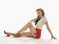 Kristen Bell - Pin Up Photoset: Pin Up and Cartoon Girls