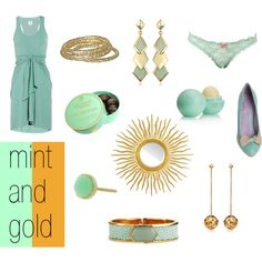 add a little mint and gold gorgeousness to your life!