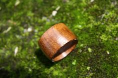 Plain ring handmade with roasted maple and finished with CA. https://www.etsy.com/listing/231448993/dark-roasted-solid-maple-ring