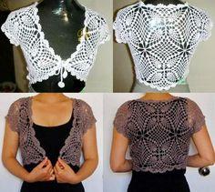Stylish Easy Crochet: Crochet Bolero Pattern - Easy and Stylish