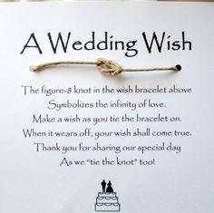 Infinity Wedding Favor