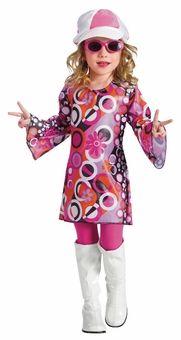 Toddler or Girls 70\u0027s Costume , Feelin\u0027 Groovy