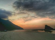 Sunset in Sabang, Palawan (Republic of the Philippines)