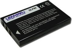 Lenmar - Lithium-Ion Battery for Select Digital Cameras - Black, DLF60