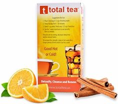 TotalTea Caffeine Free Detox Tea - All Natural - Slimming Herbal Tea for Gentle Cleansing - 25 Teabags Bloating And Constipation, Reduce Bloating, Best Detox Foods, Body Detox Drinks, Weight Loss Tea, Detox Recipes, Natural Herbs, Herbal Tea, Detox Tea
