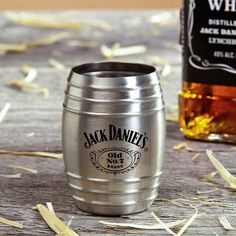 Jack Daniels Single Barrel Shot Glass (Engravable), from HomeWetBar.com