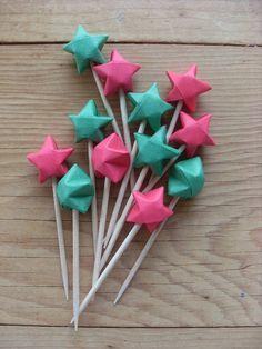 origami stars :)