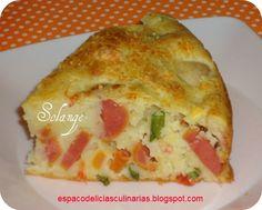 Torta de salsicha - Espaço das delícias culinárias