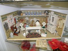 miniature items for shadow boxes - Google Search