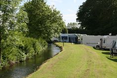 Waters Edge Caravan Park, Crooklands, Cumbria, England. Dog Friendly. Holiday. Travel. Camping. Countryside. Family.