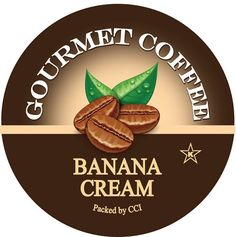 Banana Cream Coffee, Single Serve Cups for Keurig K-cup Brewers, 24 Count