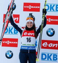 Dorothea Wierer Photos: IBU Biathlon World Cup: Women's Sprint: