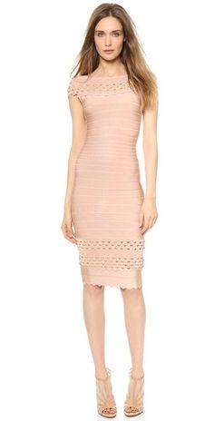 Herve Leger Studded Ardell Dress | SHOPBOP