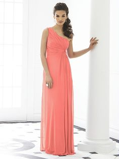 9be4f6df3c After Six (6651)  1 choice for Bridesmaids Navy with a touch of coral. The  Dessy Group