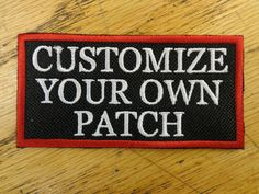 Personalized Patch Funny Saying Vest  Patch Motorcycle Biker Patch Club Patch