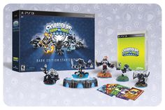 The Gamestop Exclusive Skylanders Swap Force Dark Edition comes with a range of extras than the standard version including:  The Skylanders Swap Force Dark Edition includes: - 1 game disc, - Portal of Power, - 5 Dark Skylanders Figures which include Dark Washbuckler, Dark Blast Zone, Dark Slobber Tooth, Dark Spyro, and Dark Stealth Elf, - 1 Mega Character Poster, - 5 Sticker Sheets with Secret Codes, - 5 Trading Cards. Preorder now as stock will be limited. Available on PS3, Xbox 360 and…