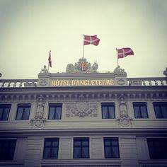 Hotel D'Angleterre in København, Region Hovedstaden. Competition and dinner Friday night.