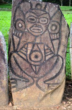 Petroglifo Mujer de Caguana