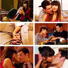 """Schmidt & Cece. """"You and I not being together does not make sense to me."""""""