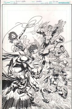 Justice League #2 Variant by Ivan Reis