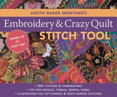 c & t publishing-embroidery & crazy quilt stitch t