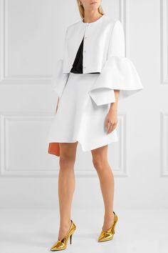 DELPOZO   Linen mini skirt   NET-A-PORTER.COM