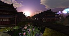 Snapshot_020 Spirit World, Bonsai, Mystic, Lotus, Waterfall, Fantasy, Explore, Mansions, House Styles