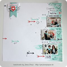 Paulinespapier - Stampin'Up! Layout 12x12
