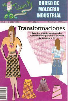 Mujeres y alfileres: Moldería industriL - Faldas. Transformaciones