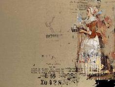 "Saatchi Art Artist Serj Fedulov; Painting, ""On the base of the great masters. Liotard,"" #art"
