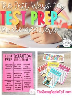The BEST Ways to Test Prep in Elementary - How to make test prep low stress, fun and engaging with FREEBIES