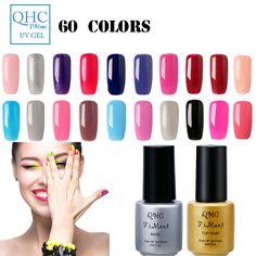QHC Fimeet  Super grey Series Gel Nail Polish UV Gel Polish Long-Lasting Soak-off LED UV Gel Color Hot Sale Nail Art Tools 1-60