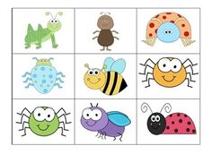 Free! Insect Reinforcement Game to be used with fly swatters from the dollar store or Target....