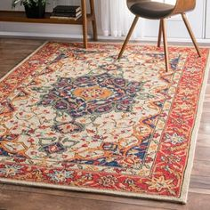 Shop for nuLOOM Handmade Country Floral Multi Rug (7'6 x 9'6). Get free shipping at Overstock.com - Your Online Home Decor Outlet Store! Get 5% in rewards with Club O! - 19051755