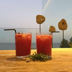 "Our signature ""Greek Summer"" cocktail"